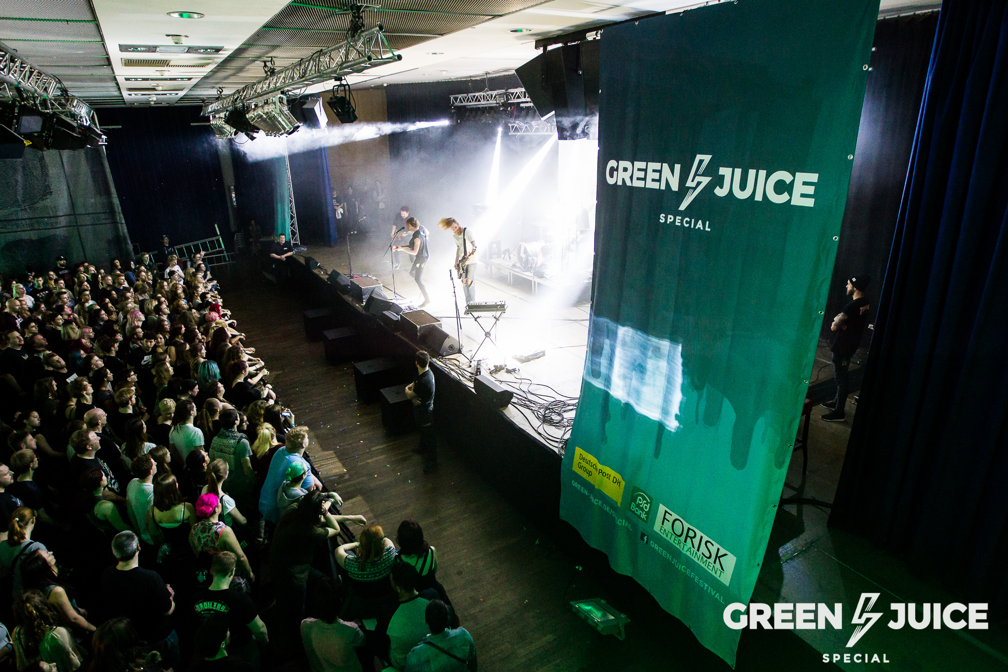 xxx am 03. April 2016 beim Green Juice Special #1 im Brückenforum in Bonn.